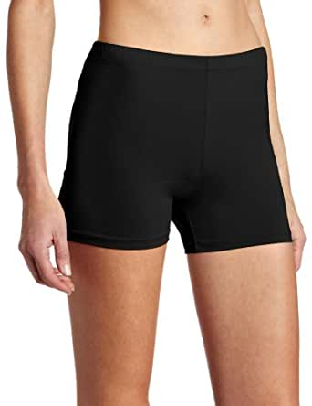 Soffe Juniors Solid Compression Short, Black, Large