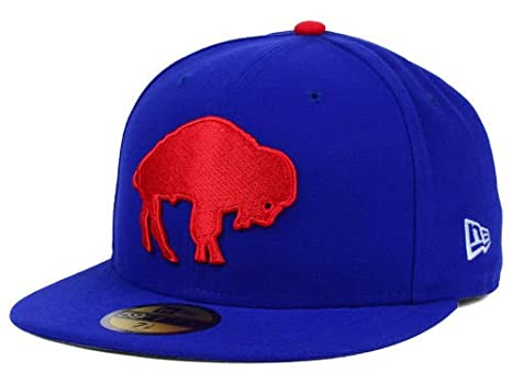 New Era Buffalo Bills NFL On Field 59Fifty Blue Red Fitted Hat Cap (6 7 6576eb6fb