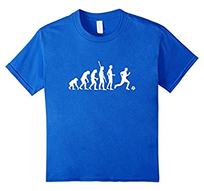 Funny Soccer T-shirt Shows Evolution of Man to Soccer