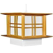Oriental Furniture Akida Hanging Lamp - Honey by ORIENTAL FURNITURE