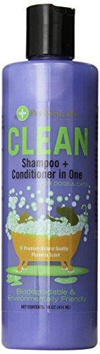 Pet Naturals CLEAN Shampoo+Conditioner (16 oz)