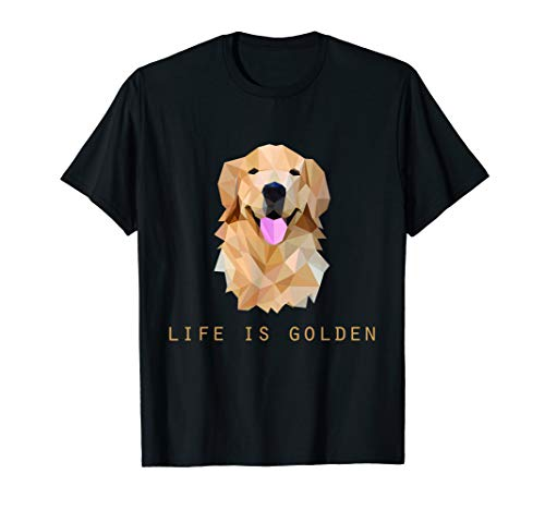 Funny Cute Life is Golden Retriever Dog lovers Gift T-Shirt