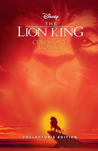 Disney The Lion King 25th Anniversary Cinestory Comic Collector's Edition