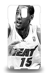 Popular Galaxy New Style Durable Galaxy Note 3 Case NBA Miami Heat Mario Chalmers #15