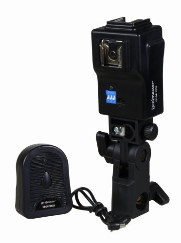 ProMaster Dual Shoe Mount Flash Trigger with built in Umbrella Holder by Promaster