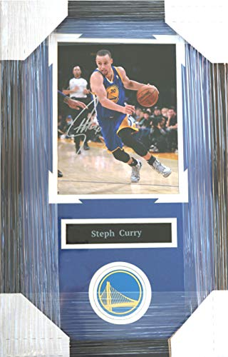 Stephen Curry Golden State Warriors Signed Autographed 22
