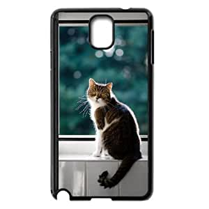Mancoon Cat Samsung Galaxy Note 3 Black Cell Phone Case TAL857252 Phone Case For Guys
