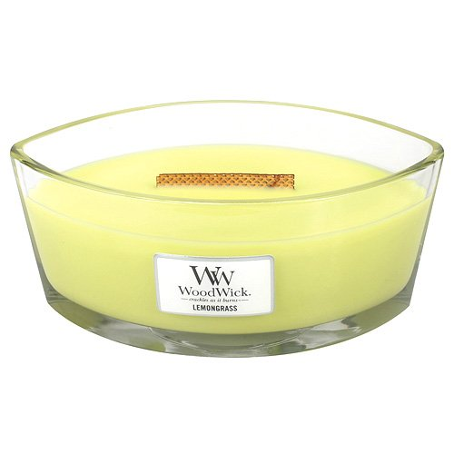 【サイズ交換OK】 レモングラスHearthWick Candle Flame WoodWick Large Scented Candle by WoodWick Large B00PUZT75O, 柴又亀家本舗:28b57c30 --- albertlynchs.com