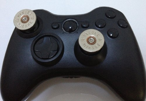 e-mods-gamingr-xbox-360-controller-12-clever-mirage-thumbsticks-bullet-button-brass-w-nickel-primer-