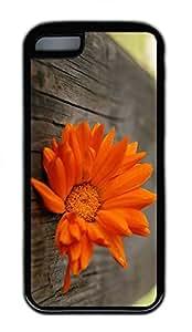 Beautiful Orange Flower Cases For iPhone 5C - Summer Unique Wholesale 5c Cases
