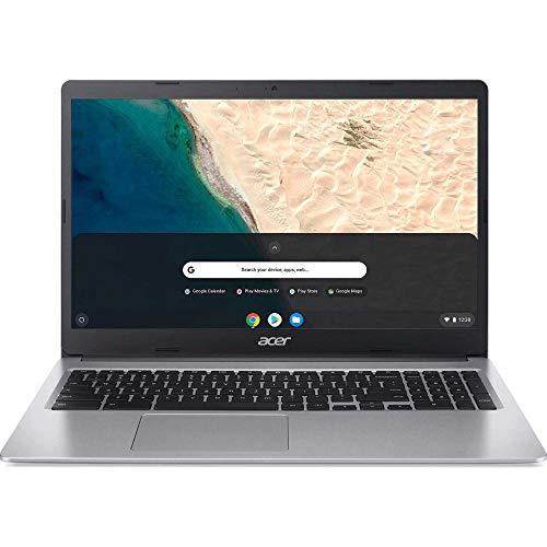 Acer 15.6inch HD Chromebook, Intel Celeron Dual Core N4000 Processor Up to 2.60GHz, 4GB LPDDR4 RAM, 64GB SSD, Numeric Keypad, Chrome OS-(Renewed) (32GB)