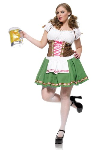 Leg A (Beer Garden Girl Plus Size Costume)