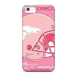 Bumper Hard Phone Cover For iphone 5s (cfl7590Azyt) Support Personal Customs Colorful Denver Broncos Skin