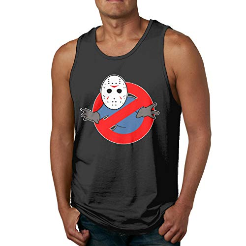 Cheny Ghostbusters Jason Voorhees Mens Tank Tops Slim Fit Muscle Shirt Black]()