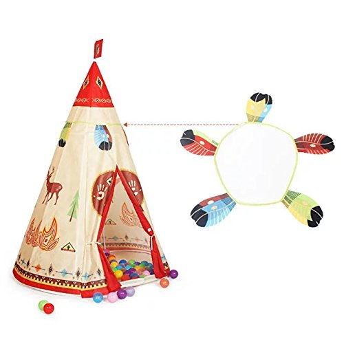 coreliky-tee-pee-playhouse-with-50-pcs-led-start-light-for-toddler-bedroom-decoration-indian-play-te