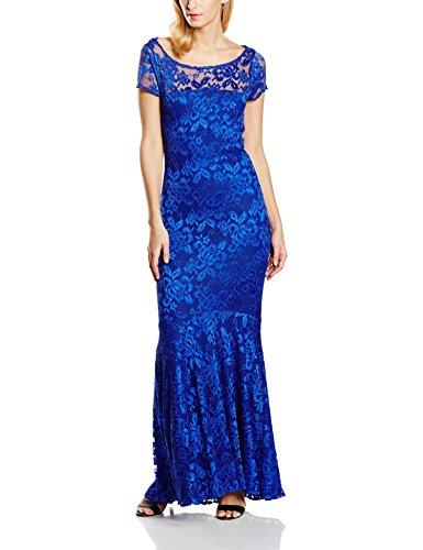 HotSquash Lace Maxi - vestido Mujer Azul (Royal Blue)