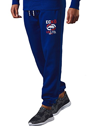 Mens Ecko Joggers Hiphop Fleece Jogging Bottom Sweat Pants Gymwear GOODWOOD, Surf The Web, XXL