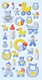 Creapop SOFTY-Stickers Baby Boy 3451127