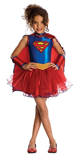 - 416S2ouG bL - DC Super Hero Supergirl Child and Toddler – Tutu Dress Costume – 3 sizes