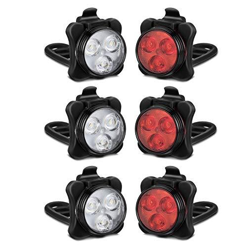 Akale Rechargeable Bicycle Headlight Waterproof