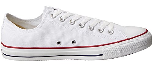 Converse Chuck Taylor All Star Low Top (6.5 Mannen / 8.5 Vrouw / 39.5 Euro, Optisch-wit)