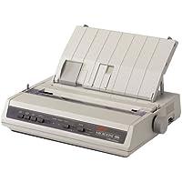 Oki Data - Oki Microline 186 Parallel Dot Matrix Printer - 375 Cps Mono - 240 X 216 Dpi - Parallel, Usb Product Category: Printers/Dot Matrix Printers