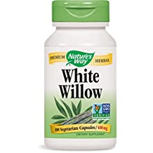 Nature's Way White Willow Bark, 100-Count