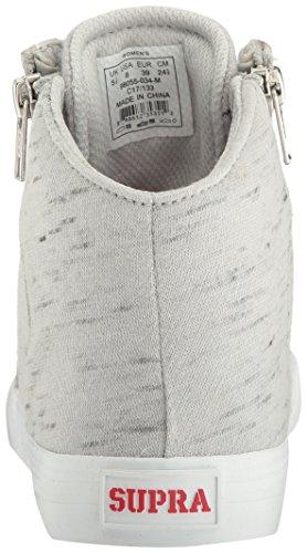 Supra Damen Cuttler Sneaker Grau weiß