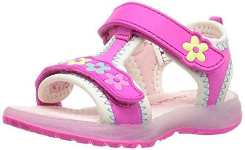 carter's Chelsea Girl's Light-Up Sandal, Pink, 8 M US Toddler
