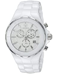 Technomarine Mens Cruise Quartz Ceramic Casual Watch, Color:White (Model: TM-115319)