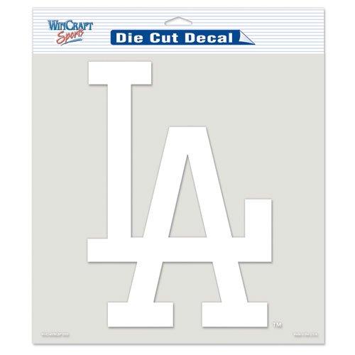 Los Angeles Dodgers Die-Cut Decal - White
