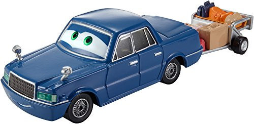 Disney/Pixar Cars, Airport Adventure 2015 Series, Trent Crow-Tow Deluxe Die-Cast Vehicle #6/6, 1:55 Scale
