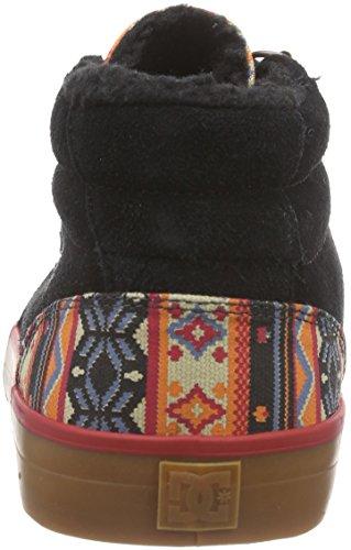 DC Council MIDT BL0 Herren Hohe Sneakers Schwarz (Black BL0)
