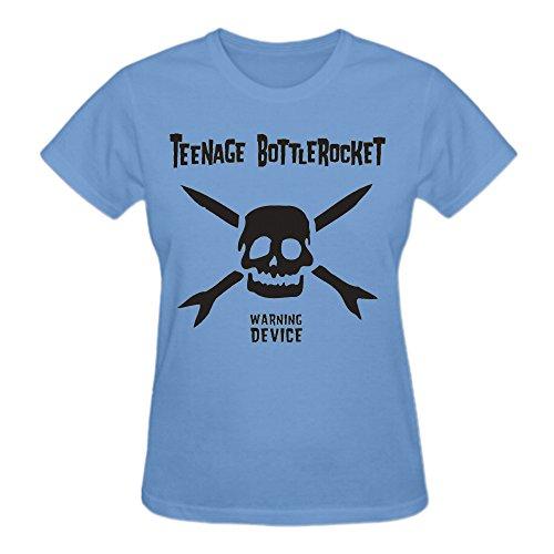 Teenage Bottlerocket Warning Device 100% Cotton Cotton T Shirt For Women O-Neck (Teenage Disco Clothes)