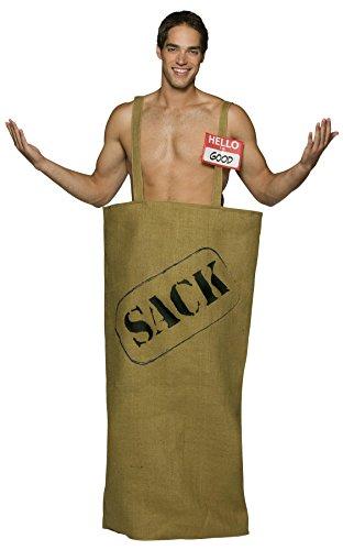 Good In The Sack Costume (Burlap Sack Costume)