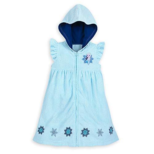 Disney Elsa Coverup for Kids - Frozen - Size 4 White458030170192