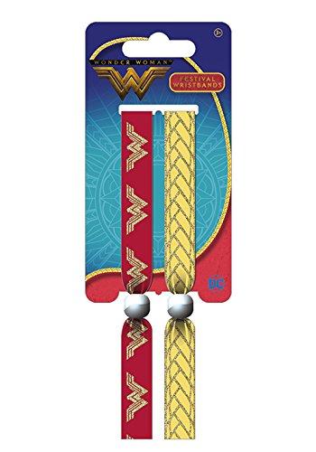 Pyramid International Boys' Wonder Emblem Wristband Multicoloured 10mm