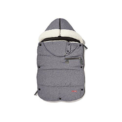Skip Hop Stroll-and-Go Three-Season Stroller Footmuff, Infant, Heather Grey by Skip Hop