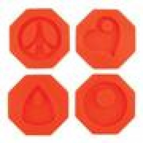 Fuseworks Polar Fuse Glass Casting Molds, Groovy Pendants