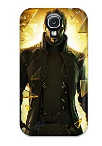 CaseyKBrown Fashion Protective Deus Ex Human Revolution Game Case Cover For Galaxy S4