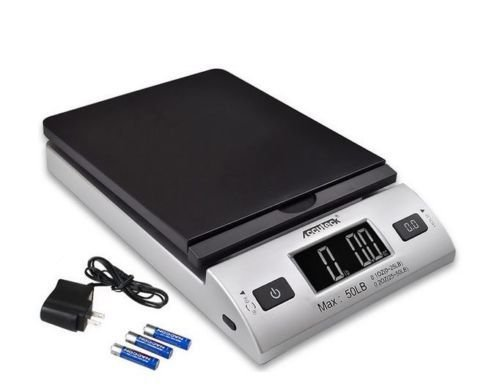 Price comparison product image Accuteck 50lbx0.2oz All-In-One PT50 Digital Shipping Postal Scale W/AC Postage