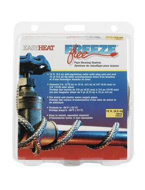 freeze free pipe - 1
