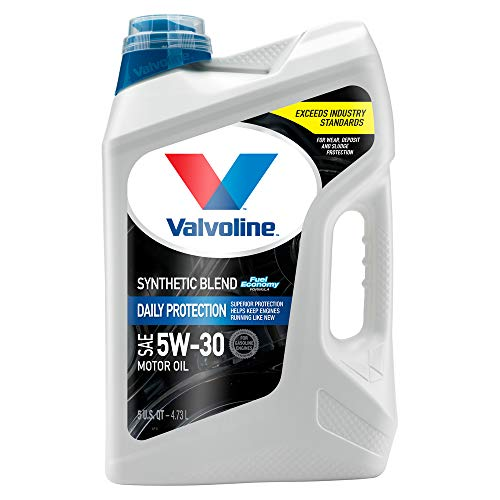 Valvoline  Daily Protection SAE 5W-30 Synthetic Blend Motor Oil 5 QT ( Package may vary )