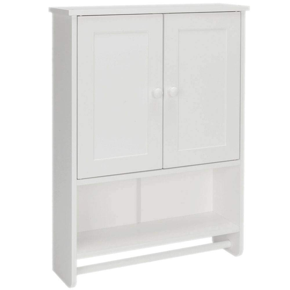 HUASHENGXU Beautiful and Simple Bathroom Wall Cabinet. Small Helper Saves Space
