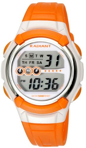Radiant new jump reloj para Unisex Digital de Cuarzo con brazalete de Silicona RA122601: Amazon.es: Relojes