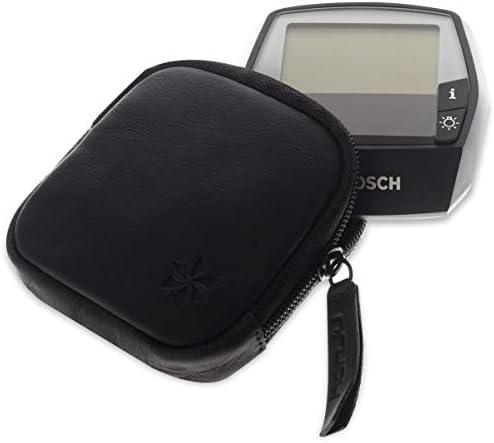 honju Leather Case for Bosch Intuvia E-Bike/Pedelec - Black