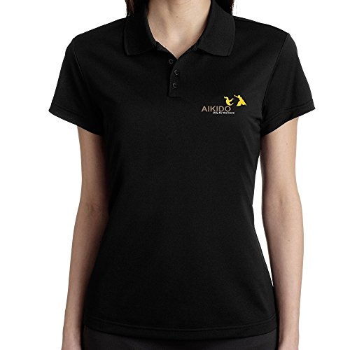 Teeburon Aikido Only for the brave - Polo Femme