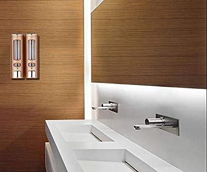 dispensador de gel de ducha Adoture Dispensador desinfectante de manos para pared TypeA ba/ño o hotel champ/ú y gel de ducha