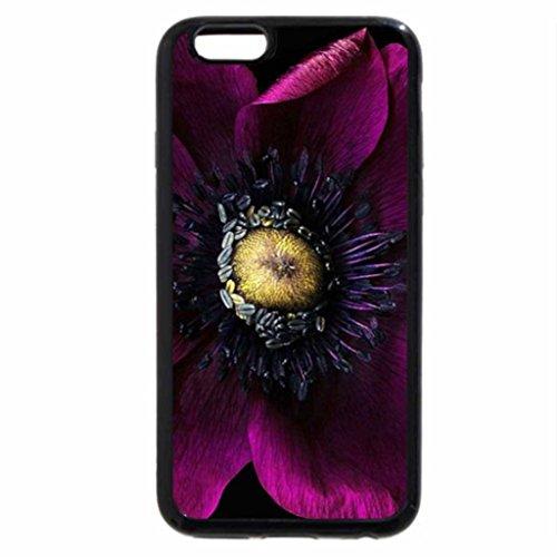 iPhone 6S / iPhone 6 Case (Black) Purple Flower