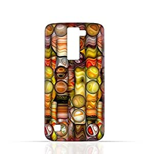 LG K7 TPU Silicone Case with Abstract Bubble Background